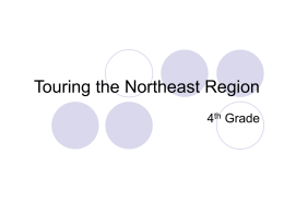 Touring the Northeast Region