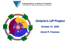 IT Showcase IJ Project Update October 5, 1999