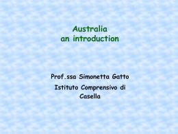 Australia an introduction