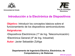 TEMA 1. Materiales semiconductores