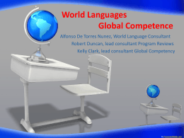 World Languages / Global Competence