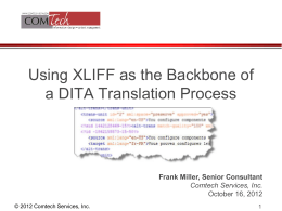 Translating and Localizing DITA