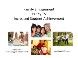 Family Engagement Is Key To Increased Student …