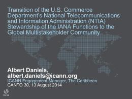 ICANN & Internet Ecosystem