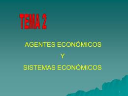 TEMA 2: FACTORES PRODUCTIVOS Y SISTEMAS …
