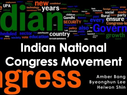 Indian National Congress Movement
