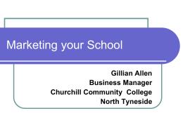 Marketing your School - School Business Management