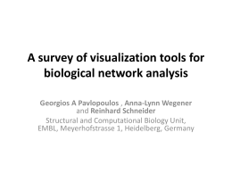 A survey of visualization tools for biological network