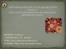 UNIVERSIDAD MICHOACANA DE SAN NICOLAS DE …