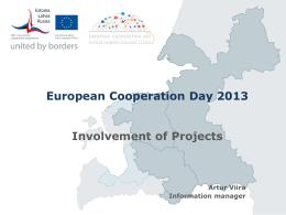 European Cooperation Day 2012 with Estonia