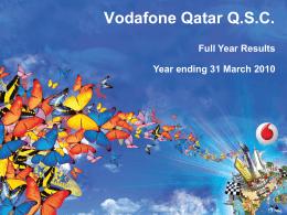 Vodafone template