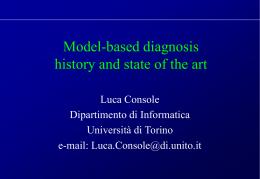 Problem solving diagnostico: evoluzione, stato dell'arte e