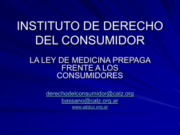 ACCIONES JUDICIALES EN DEFENSA DE LOS …