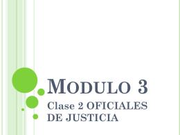 Modulo 3 - SUPREMA CORTE DE JUSTICIA