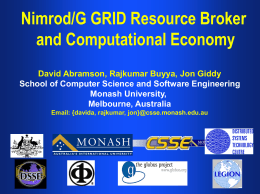 Grid Resource Management, Scheduling, and …