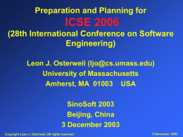IV. Software Processes