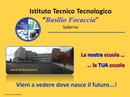 Diapositiva 1 - ITT Basilio Focaccia