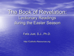 Book of Revelation - Catholic Resources