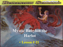 Mystic Babylon the Harlot