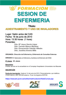 SESION DE ENFERMERIA