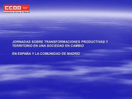 JORNADAS SOBRE TRANSFORMACIONES PRODUCTIVAS …