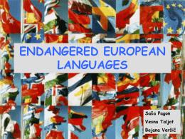 ENDANGERED-EUROPEAN