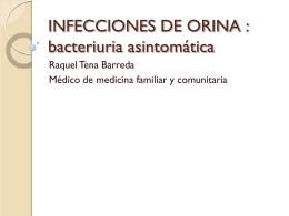 INFECCIONES DE ORINA - Docencia Rafalafena | Articulos
