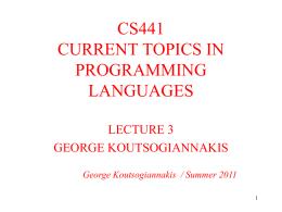CS441