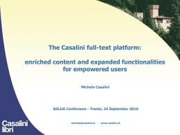Diapositiva 1 - trentinocultura.net