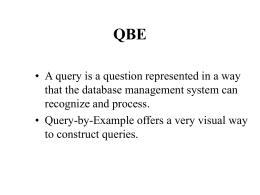 QBE - University at Albany, SUNY
