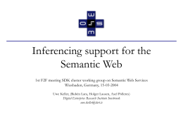 Semantic Information Integration