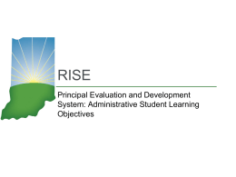 RISE - Northwest Indiana Education Service Center / …