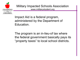 History of Impact Aid