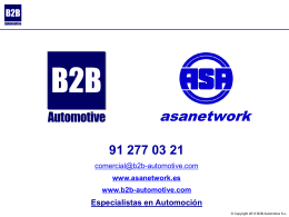 B2B Automotive asanetwork ITV sistemas de gestion_es