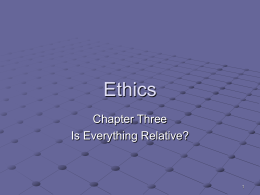 Ethics - State University of New York