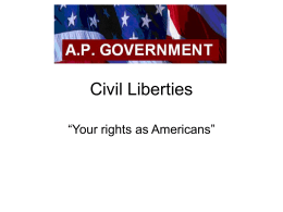 Civil Liberties - Home