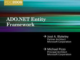 PRE01: ADO.NET Entity Framework