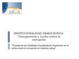 Diapositiva 1 - SIA de EUROsociAL II