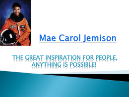 Mae Carol Jemison - Pearland Independent School District