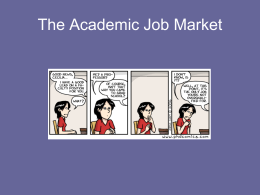 The American Job Market