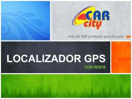 LOCALIZADOR GPSCON RENTA