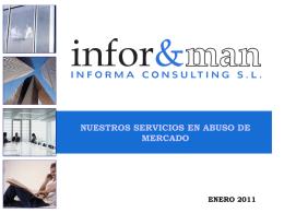 Diapositiva 1 - Informa Consulting