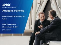 Encuesta de Fraude en Colombia 2011