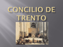 Concilio de Trento - Sociales-TIC