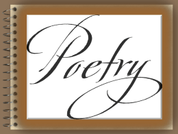 POETRY - Lower Moreland Township School District