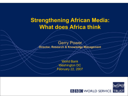 African Media Development Initiative