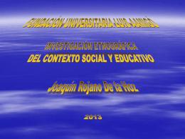Diapositiva 1 - JOAQUIN ROJANO DE LA HOZ