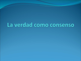 La verdad como consenso - FILOFIN | Just another …