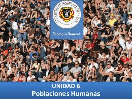 Poblaciones Humanas