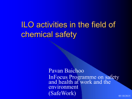 ILO activities related to management systems …